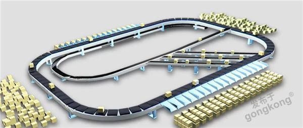 信捷物流自动分拣解决方案