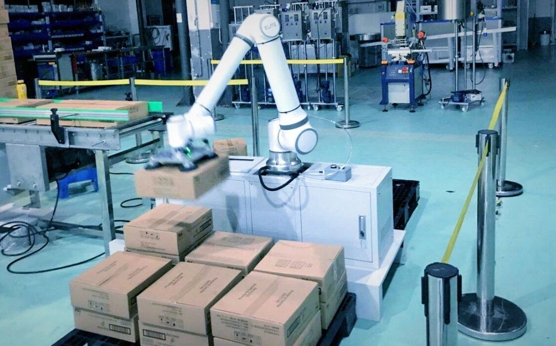 """基于协作机器人的""""渐次自动化""""解决方案"""