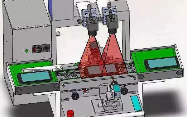 机器视觉检测系统结构
