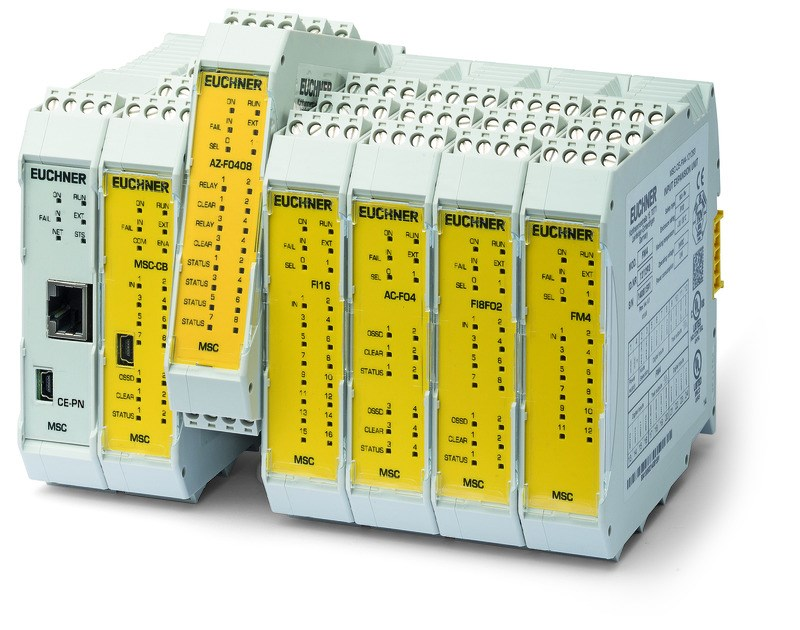 Rotation-speed and standstill monitors - the new expansion modules for the small safe control system MSC