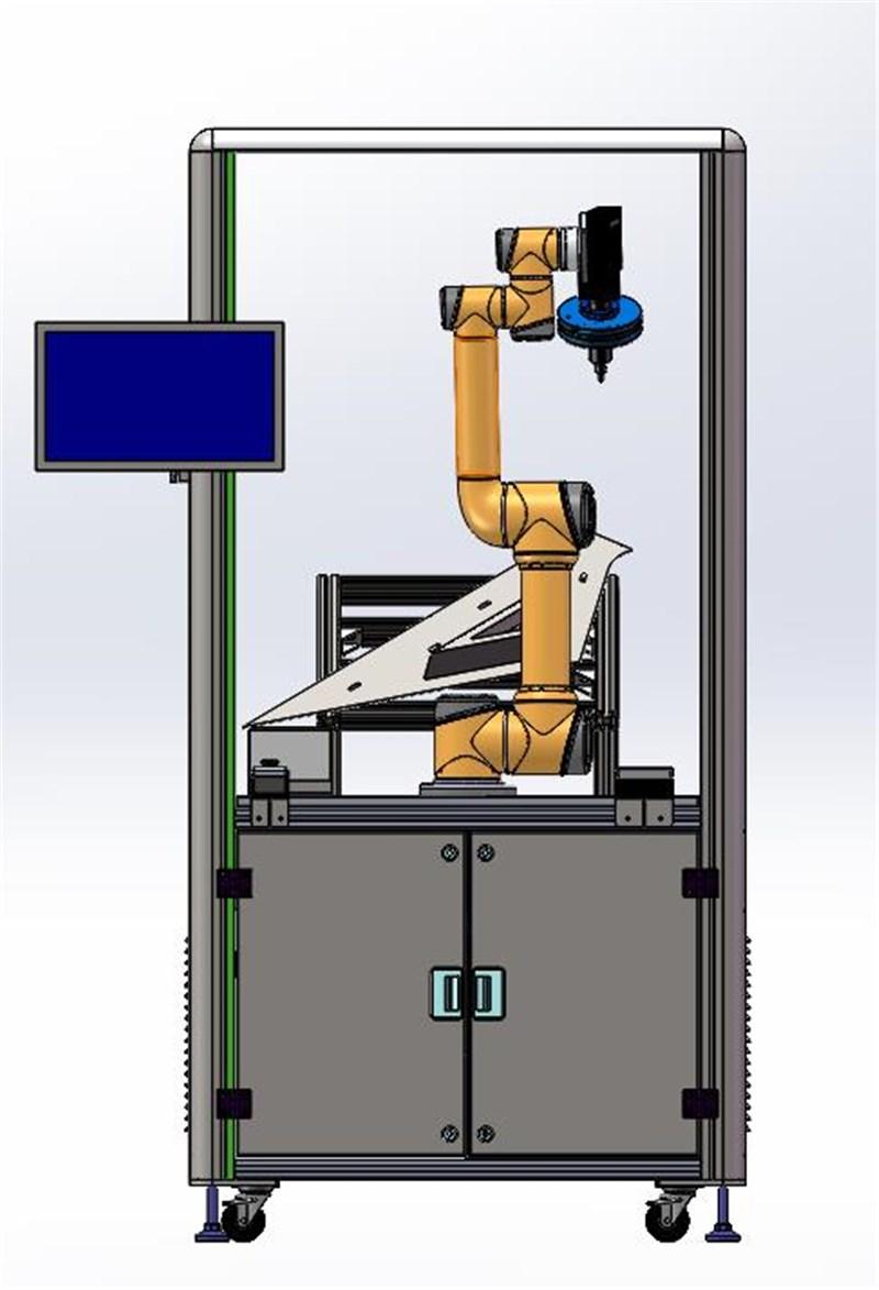 机器人涂胶在线视觉检测系统