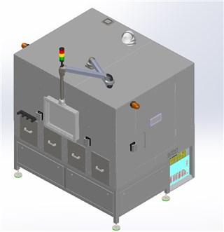 全自动机器人激光清洗机
