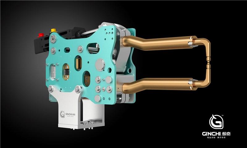 机器人中频伺服电阻点焊钳