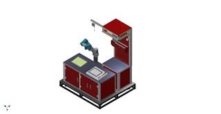 拧紧设备配合关节机器人