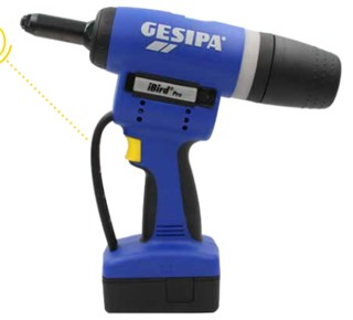 GESIPA iBird Pro network-connected battery-driven riveting installation tool